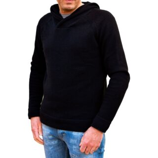 cashmere cotton hoodie sweater many colors